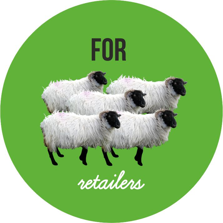 for retailers sheep